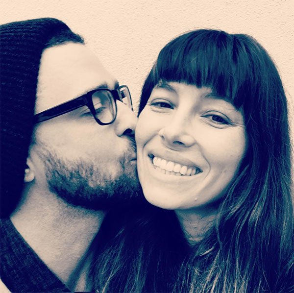 """You make me laugh. You make me smile. You make me LOVE. You make me want to be BETTER. Speaking of, it doesn't get any BETTER than you… Ask me who the luckiest guy in the world is and I will tell you that you're looking at him."" Justin Timberlake talking about Jessica Bail. (Photo: Instagram)"