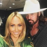 Billy Ray and Tish Cyrus tied the knot in 1993. After having five children and being together for 17 years, the couple filed for divorce but reconciled shortly after. Three years later, Miley's mom filed for divorce again, but a month later they were back together. To this day, they're still going strong. (Photo: Instagram)