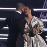 He dated RiRi… allegedly. Drake and Rihanna supposedly had a secret (not so secret) romance since 2009. She even kissed him in public after his very emotional ode to her during the 2016 MTV VMA's! (Photo: WENN)