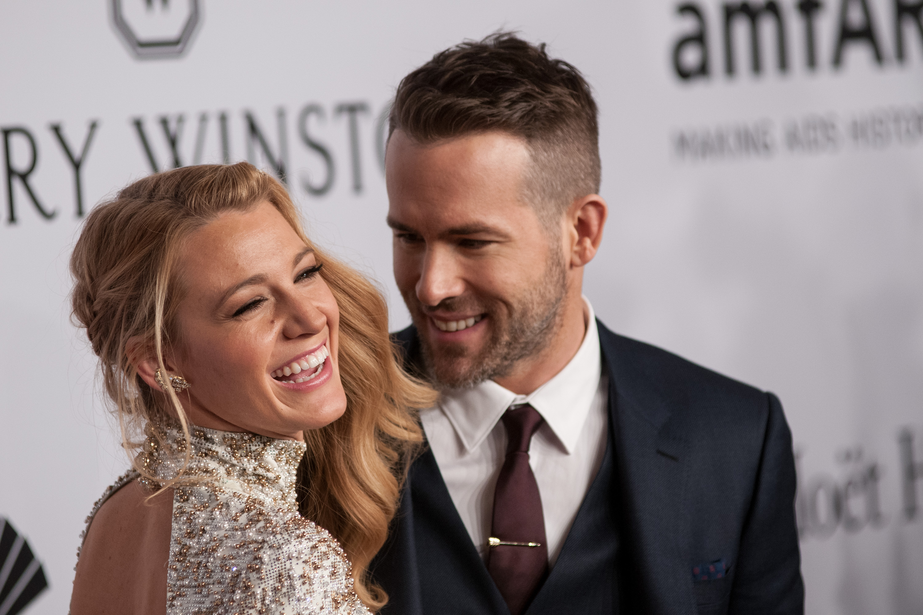 Ryan Reynolds and Blake Lively's birthday posts are #CoupleGoals. (Photo: WENN)