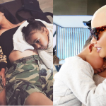 Both Kim and Amber have ridiculously cute children! (Photo: Instagram)
