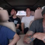 Apple Music's Carpool Karaoke episode with Linking Park was released on Thursday. The video featuring a joyful Chester Bennington was filmed just days before the lead singer took his own life. (Photo: WENN)