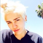 Today, Miley is the ultimate blonde in the showbiz. (Photo: Instagram)