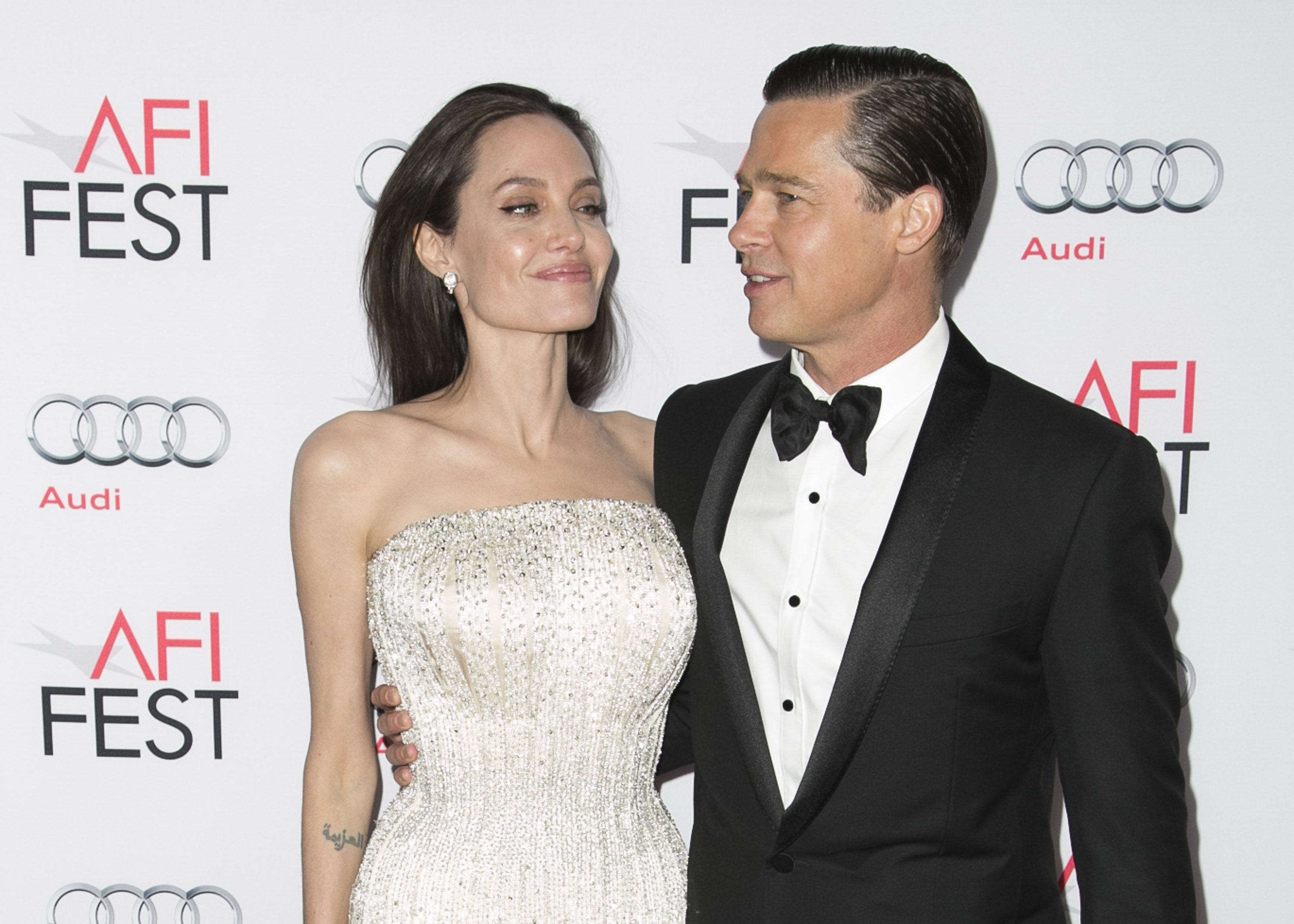 Brad + Angelina= Brangelina (Photo: WENN)