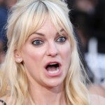 Anna Faris when she first heard the rumors about J Law and Christ Pratt. (Photo: WENN)