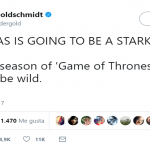 Is he going to team up with Bran to form The Stark Brothers, the best band in the north? (Photo: Twitter)