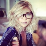 And as a blondie too! I mean, Sarah Hyland would look beautiful with green hair! (Photo: Instagram)
