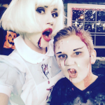 Gwen Stefani was a zombie Alice from Alice in Wonderland. (Photo: Instagram)
