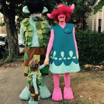 Justin Timberlake gave a shout out to his movie and made his family to dress up as Trolls. (Photo: Instagram)