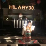 The musician was one the special guests to Hilary's 30th birthday celebration. (Photo: Instagram)
