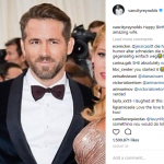 Two months ago, Ryan cropped largely cropped Blake out of a picture he posted on Instagram, leaving just his face to fill most of the frame. (Photo: Instagram)