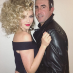 Kate Upton and Justin Verlander were Sandy and Danny from Grease! (Photo: Instagram)