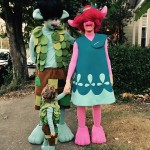 Because they know how to pull off the best Halloween family costumes and PR strategies. (Photo: Instagram)