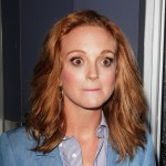 Jayma Mays when she heard the news about Mark Salling. (Photo: WENN)