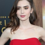 Lily Collins' thick, full brows are follicular miracles! (Photo: WENN)