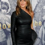 """If I walk on to an airplane, I always have to go on with my right foot first and tap the outside of the plane,"" Jennifer Aniston confessed in an interview. ""I have always done it for luck."" (Photo: WENN)"