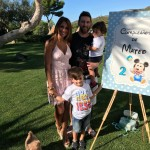 Messi and Roccuzzo are parents to Thiago and Mateo. (Photo: Instagram)