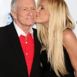 In 2010, Hefner and Crystal became engaged and tied the knot at the Playboy mansion on New Year's Eve in 2012. (Photo: WENN)