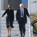 """""Mrs. Trump has made the White House a home for Barron and the President. She loves living in Washington, DC, and is honored by her role as first lady of the United States,"" the statement continued. (Photo: WENN)"