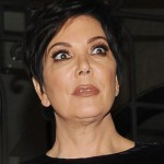 The exact moment when Kris Jenner heard of Kim's infamous tape. (Photo: WENN)