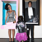 Queen B, Jay Z, and Blue Ivy dressed up as a Barbie family! (Photo: Instagram)
