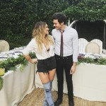Hilary Duff and Matthew Koma confirmed their relationship in January 2017, but ended their romance just a few months later. The pair has recently confirmed their relationship once again during Hilary's 30th birthday celebration. (Photo: Instagram)