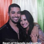 "Earlier this year, Demi posted a photo alongside Valderrama, making it clear that they are ""best friends, no matter what."" (Photo: Instagram)"