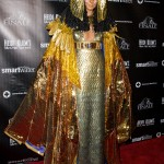 Her 2012 party may had been in December due to Hurricane Sandy, but she still slayed in this Cleopatra-inspired costume. (Photo: WENN)