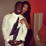 Although in recent days there's been trouble in paradise for Kevin Hart and Eniko Parrish, we still remember their surprising engagement announcement on Instagram. (Photo: Instagram)