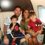 Congratulations to the Messi-Roccuzzo family! (Photo: Instagram)