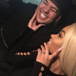 Things didn't end up good for this two, but who could forget the moment when Blac Chyna and Rob Kardashian broke the news on their engagement through Instagram? (Photo: Instagram)