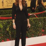 Julia Roberts in a Givenchy tux-collared jumpsuit at the Screen Actors Guild Awards in 2015. (Photo: WENN)