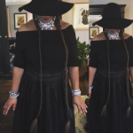 Shonda Rhimes dressed u one of Beyoncé's Formation looks. (Photo: Instagram)