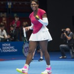 "Serena Williams once said: ""I have a pair of socks that I've been wearing every match,"" she said. ""I've never lost a match in these socks so I guess that is a little superstitious."" You do you, girl! (Photo: WENN)"