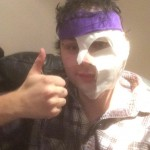 A pyrotechnics mishap on stage left the 5 Seconds of Summer guy with burns on his face. Fortunately, Michael Clifford has recovered without any noticeable marks! (Photo: Twitter)