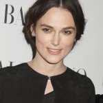 Keira Knightly balances drama and chic perfectly here. (Photo: WENN)