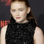 Sadie Sink plays Max, a new girl in town who skateboards and rules at the arcade games. (Photo: WENN)