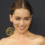 Emilia Clarke's full eyebrows make her the eternal winner in the Game of Brows. (Photo: WENN)