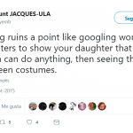 Maybe you should try googling a woman police officer, or a nurse, or a teacher… (Photo: Twitter)
