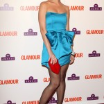 Katy Perry attending the Glamour Awards 2009, held at Berkeley Square Gardens, London. (Photo: WENN)