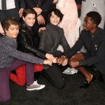 The Stranger Things kids celebrating the premier of season 2 of their Netflix show. No biggie. (Photo: WENN)