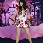 Wearing the iconic candy-covered confection from her California Dreams Tour in 2011. (Photo: WENN)