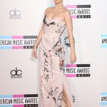 Again, wearing an Asian-inspired dress at the 2011 American Music Awards in L.A. (Photo: WENN)