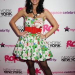 Katy opening the new Rock nightclub at the New York New York resort casino in 2008. (Photo: WENN)