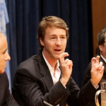 Edward Norton was designated U.N. Goodwill Ambassador for Biodiversity, raising awareness for the organization's ideals and activities towards development and conservations. (Photo: WENN)