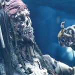 Pirates of the Caribbean: The Curse of the Black Pearl (2003)— Director Gore Verbinski translated that sensibility perfectly with Black Pearl's living skeletons: anatomically detailed, ghoulishly organic, yet animated with a playful touch. (Photo: Release)