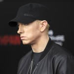 "After four years, Eminem is back with his new single ""Walk On Water"". (Photo: WENN)"
