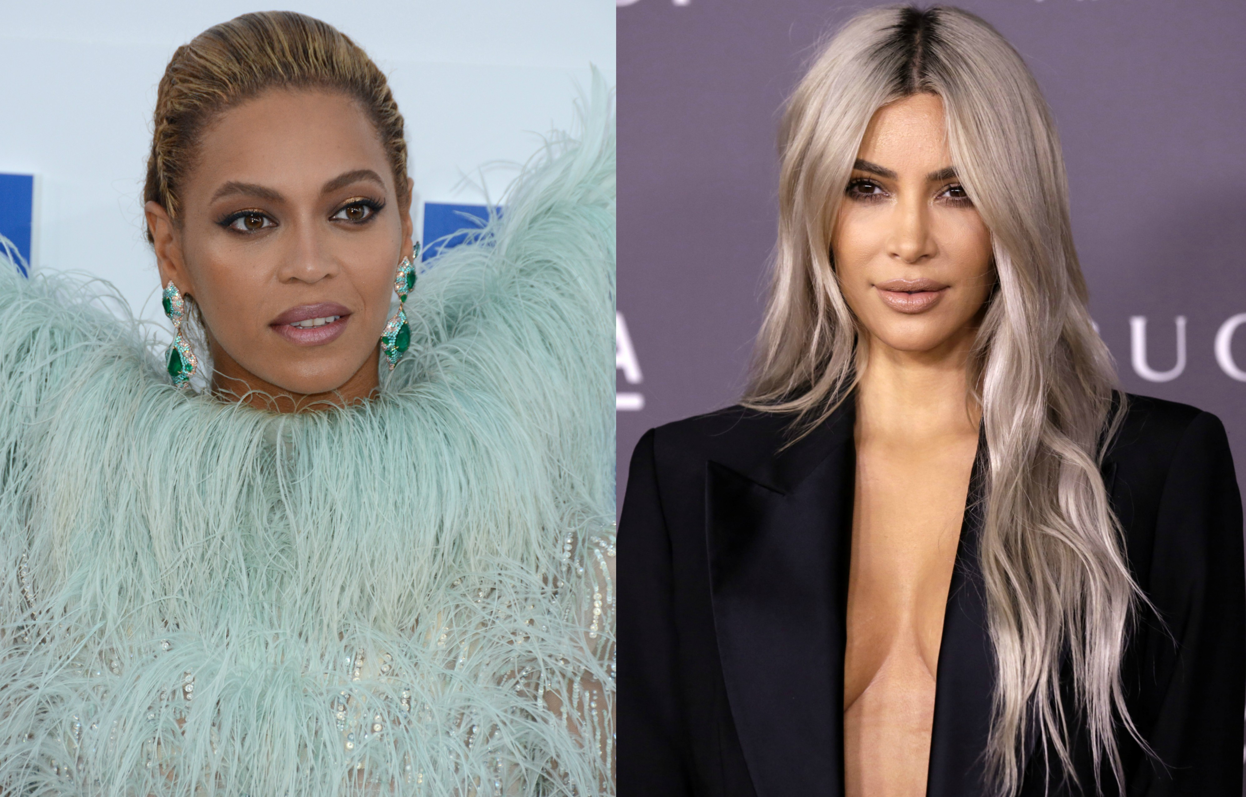 Beyoncé and Kim Kardashian are not fond of each other and simply try to get along because their husbands are so close. But since they're not anymore (keep clicking through), there's no need to keep pretending! Right? (Photo: WENN)