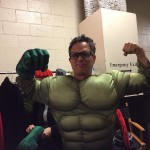 He once attended a Comic Con dressed up as The Hulk, and people had no idea it was him! (Photo: Instagram)