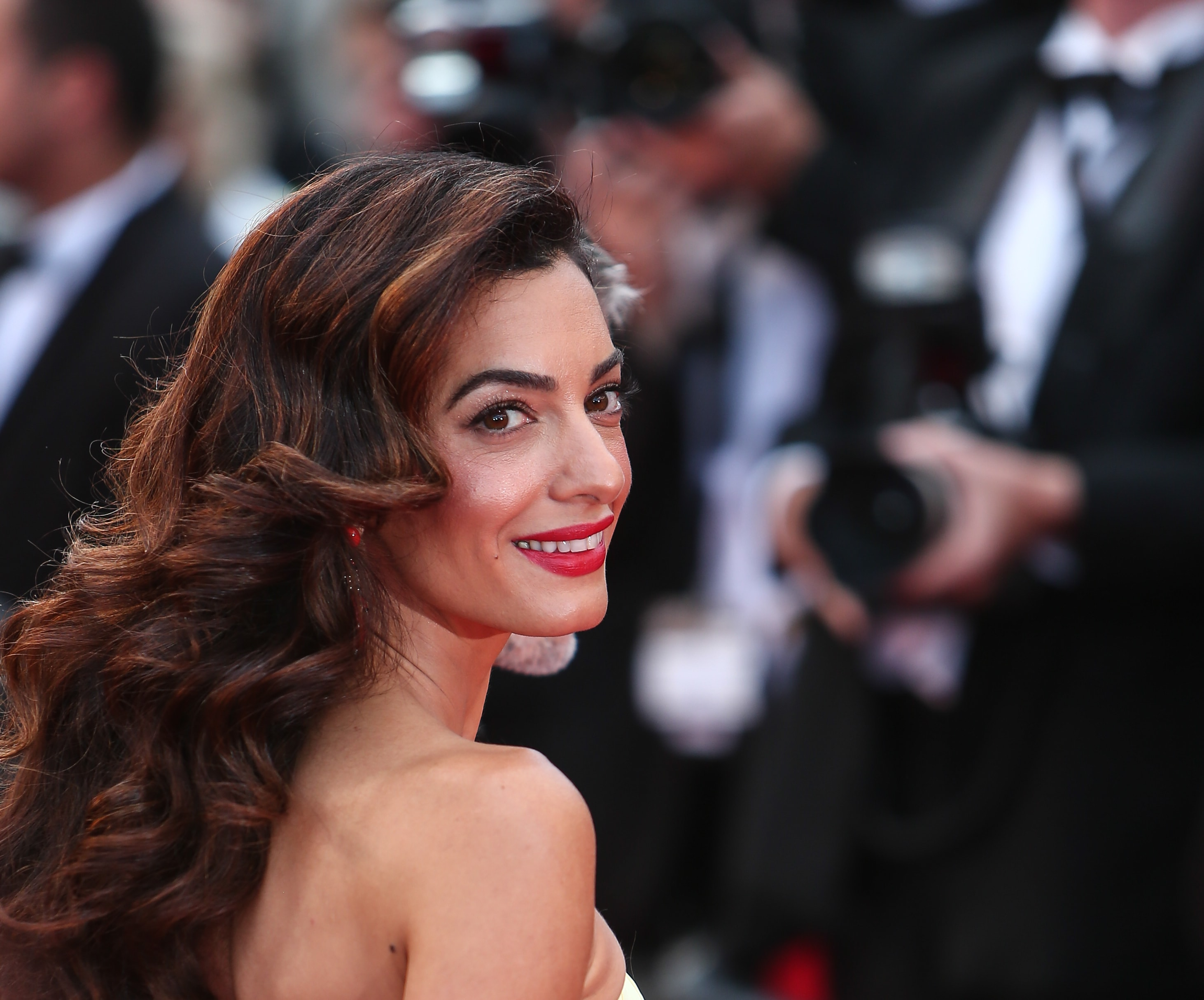 Amal Clooney, the renowned human rights lawyer and wife of George Clooney, was raised in London since the age 2, but she was actually born in Beirut and comes from a Lebanese family. (Photo: WENN)